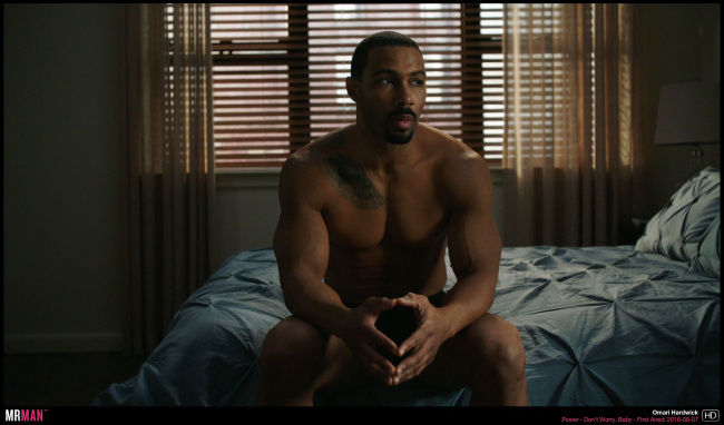 Omari Hardwick shirtless power