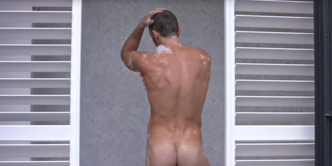 Emrhys Cooper naked trophy boy