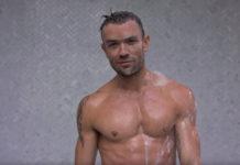 Emrhys Cooper shirtless trophy boy