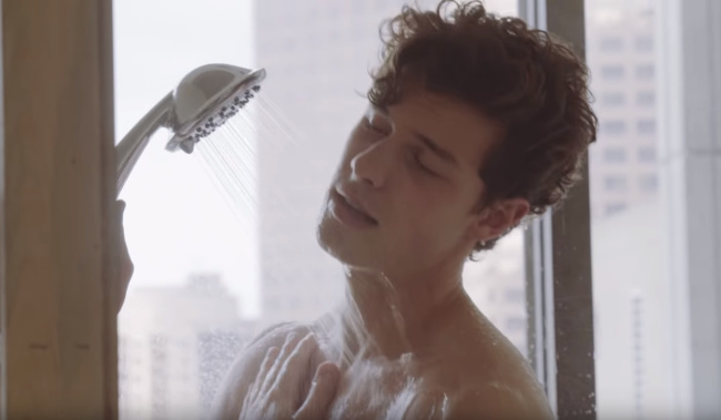 Shawn Mendes shower lost in japan