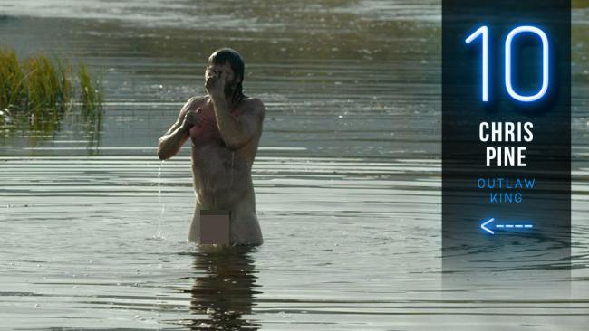 Chris Pine naked outlaw king