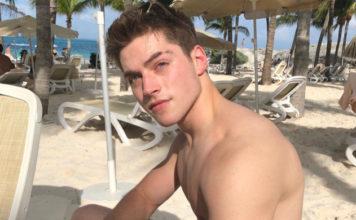 Froy Gutierrez shirtless