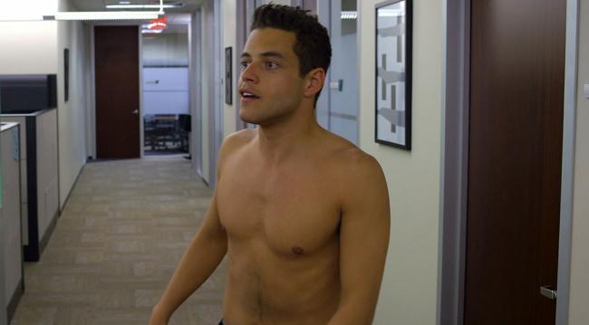 Rami Malek shirtless need for speed