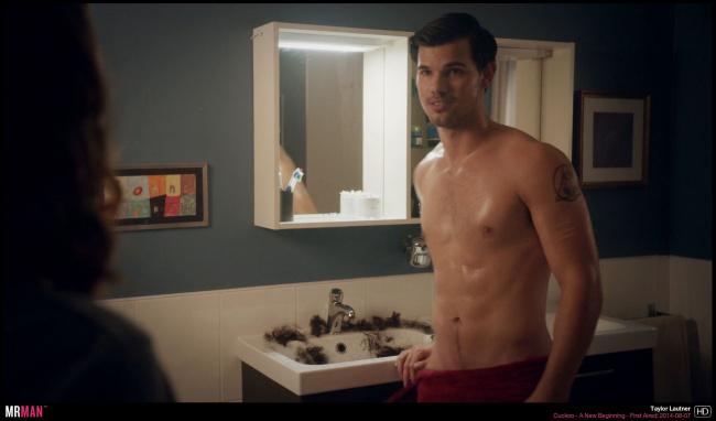Taylor lautner cuckoo semi naked