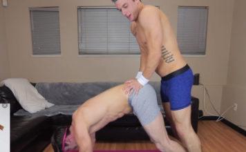 AbsolutelyBlake and Jordan yoga