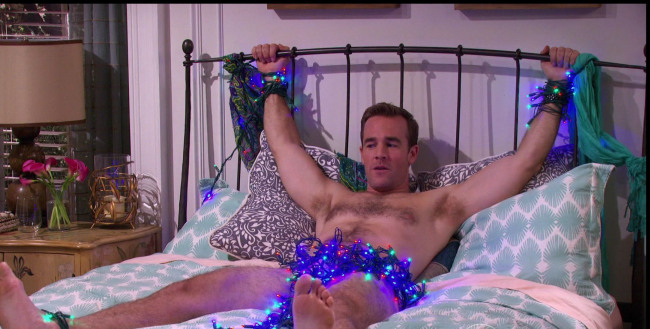 James van der beek naked tied up