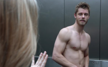 Luke Mitchell shirtless blindspot