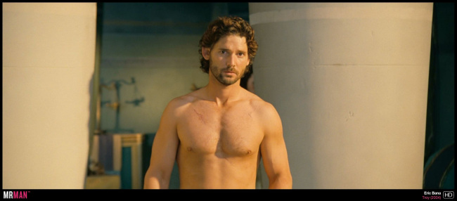 eric bana shirtless troy
