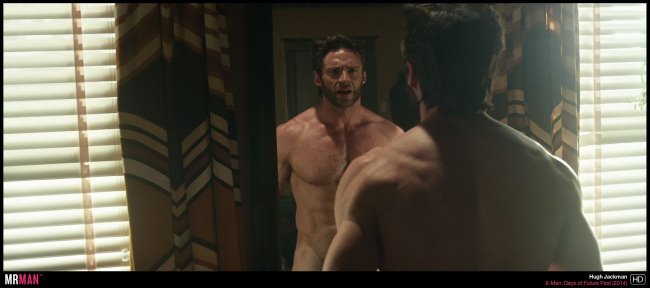 hugh jackman naked x-men