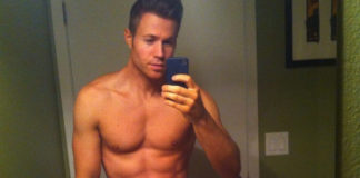 Ashley parker angel shirtless