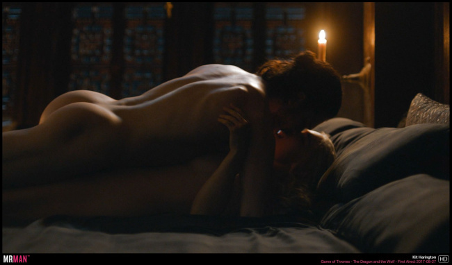 Kit Harington naked game of thrones