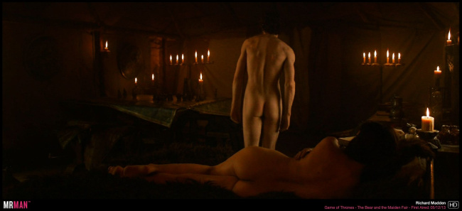 Richard Madden naked game of thrones