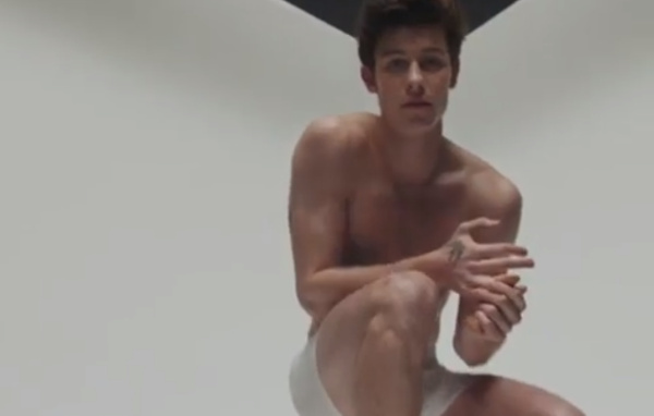 Shawn Mendes calvin klein second ad
