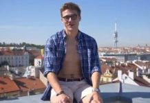 Blake Mitchell prague video