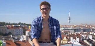 Blake Mitchell prague video