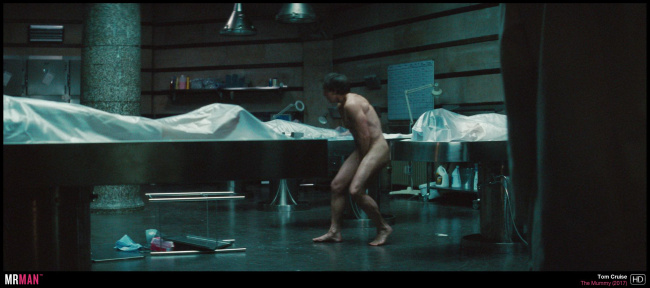 Tom Cruise naked the mummy