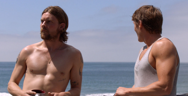 Jake Weary shirtless animal kingdom