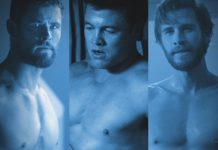 hemsworth brothers shirtless