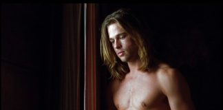 Brad pitt shirtless 90s