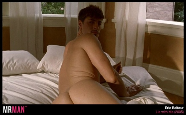 Eric balfour naked in bed lie with me
