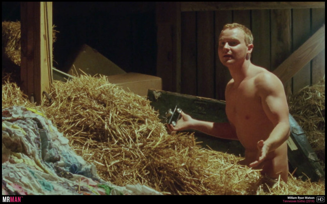 William Ryan Watson shirtless hay