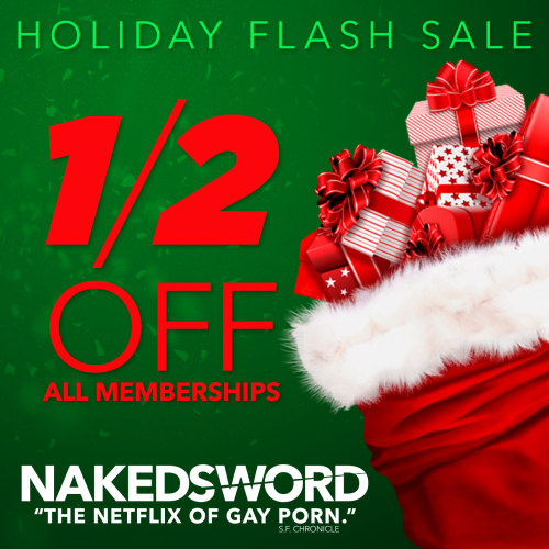 Holiday Naked Sword