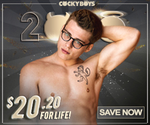 Cockyboys new year deal blake