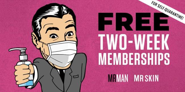 Mr Man two free weeks