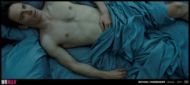 Michael Fassbender naked in bed shame