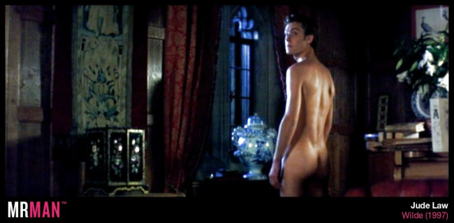 Jude Law naked wilde