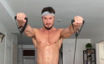 skyy knoxx naked workout