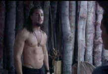 Alexander Dreymon the last kingdom shirtless
