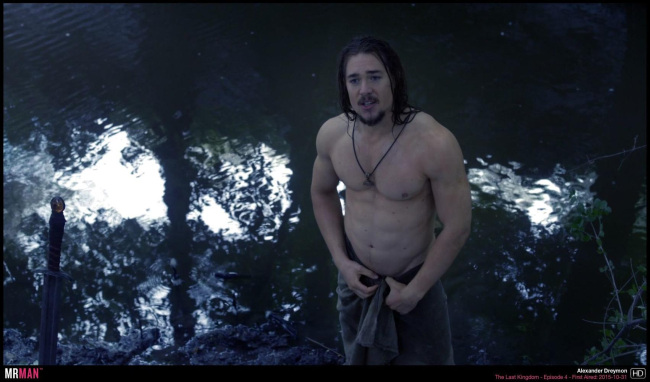Alexander Dreymon the last kingdom wet