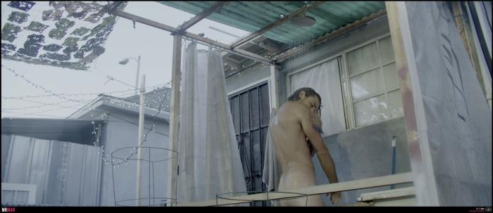 KJ Apa naked songbird shower