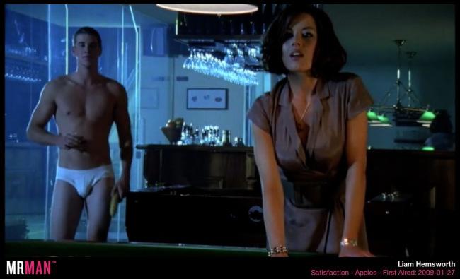 Liam Hemsworth underwear satisfaction