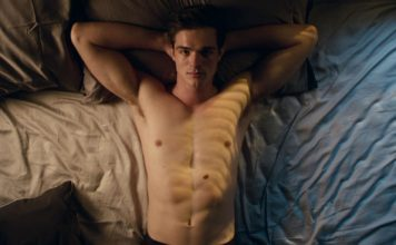 Jacob Elordi shirtless bed