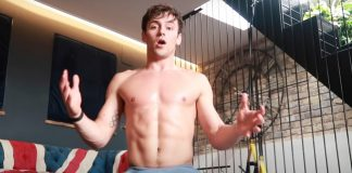 tom daley workout youtube