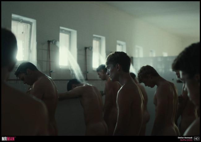 moffie men in shower