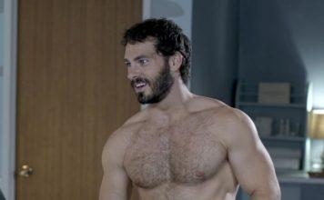 Shawn Roberts shirtless frosty affair