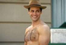 Matthew Daddario shirtless