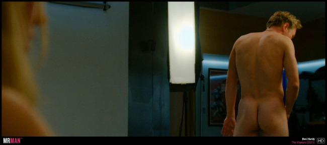 Ben Hardy naked